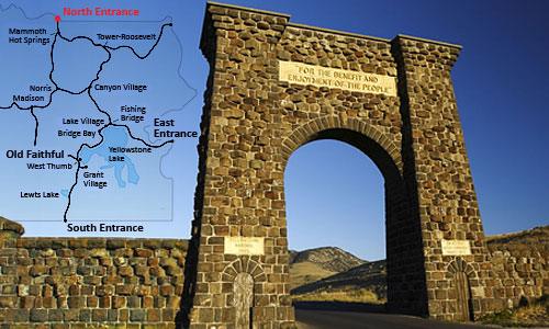 Web_camera_Yellowstone_s_severnogo_vhoda